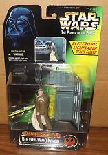 Kenner Star Wars POTF Electronic Power F/X Ben (Obi-Wan) Kenobi Action Figure