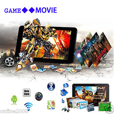 "WIFI Bluetooth 7"" A33 Android 4.4 Quad-Core 8GB Sim Tablet PC Dual Camera UK"