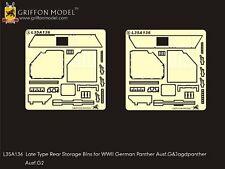 Griffon 1/35 #L35A136 Rear Storage Bins for Panther Ausf.G & Jagdpanther Ausf.G2