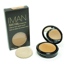 IMAN FOND DE TEINT CREME-POUDRE SECOND TO NONE CLAY 1 , 10 g MARQUE USA K