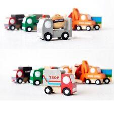 1 x mini veicolo auto di legno giocattoli educativi per i bambini regalo