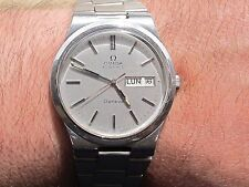 VINTAGE OMEGA GENEVE AUTOMATIC REF.1660174 CAL.1022 DAY&DATE WATCH SWISS MADE