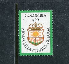Colombia 905, MNH, Coat of Arms Buga. x23354