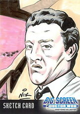 Dr Doctor Who Big Screen Additions Sketch Card by Nik / Nick Neocleous /3