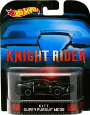 Hot Wheels EL COCHE FANTÁSTICO - KNIGHT RIDER K.I.T.T. KITT - Edit Retro