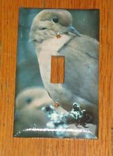 WILD DOVE WILD GAME BIRD LIGHT SWITCH COVER PLATE
