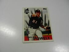 Brian Powell 1996 Topps Draft Pick card #244