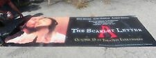 "The Scarlet Letter Movie Poster Vinyl 120"" X 46.5"" Rare Promo"