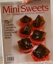 MINI SWEETS Magazine 75 COOKIES, CupCakes, CANDIES, HandHeld PIES & More$13