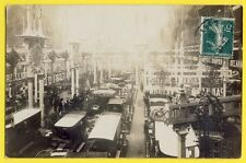 cpa Carte Photo PARIS SALON de l'AUTOMOBILE 1910 Stands Voitures Car Show France