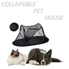 Portable Dog Cat Pet Dome Collapsible Shading Tent Outdoor Foldable Pet House*