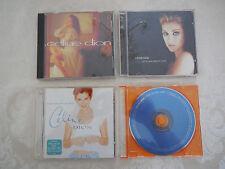Celine Dion 4 CD Lot Falling into You Celine Dion Let's Talk.. & A New Day FRSH!