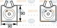 HELLA 8MO 376 778-001 OIL COOLER ENGINE FITS AUDI A3 I 96-03 WHOLESALE PRICE