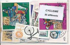 ZBA - CYCLISME : 50 TIMBRES DIFF. OBLI. Ts PAYS
