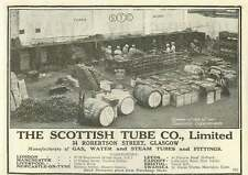 1926 The Scottish Tube Company Robertson Street Glasgow Old Advert