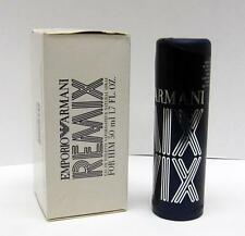 New In Sample Box Emporio Armani Remix For Him By Giorgio Armani EDT 50ml 1.7 oz