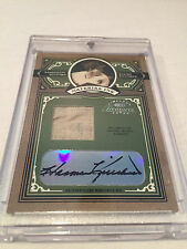 2005 Donruss Timeless Treasures Harmon Killebrew Twins autographed jersey #'d 50