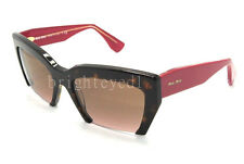 Authentic MIU MIU Rasoir Sunglasses MU 11OS - 2AU5P1 *NEW*
