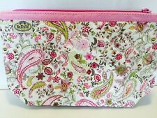 NARAYA PINK FLOWERS COSMETIC BAG - QUICK DELIVERY