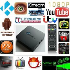 Sonnics Quad Core Android 4.4 KitKat TV box with Full HD 1080p KODI NUOVO di zecca