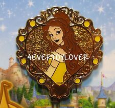 Disney Pin Beauty and the Beast BELLE Heart Story book      PINS