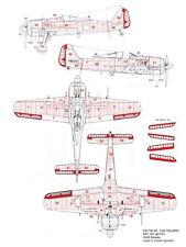 HGW Models 1/48 Focke-Wulf Fw 190A-5 Positive Rivets for Eduard (Complete Set)