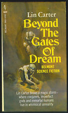Beyond the Gates of Dream by Lin Carter with Robert E. Howard-First Print-1969