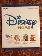 Brother Disney Embroidery Card Film Stars Lion King, Mermaid, Aladdin, Beauty