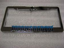 CUSTOM MOONSHADOW AUTOMOTIVE LIFESTYLE DALLAS TEXAS LICENSE PLATE FRAME FORGIATO
