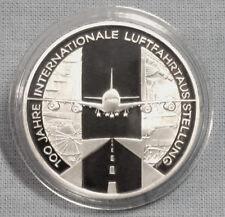 """SILBER-GEDENKMÜNZEN: 10 EURO 2009  LUFTFAHRTAUSSTELLUNG  SPIEGELGLANZ  """" PP """""""