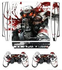 254 Skin Sticker Cover for PS3 PlayStation 3 Slim and 2 controller skins
