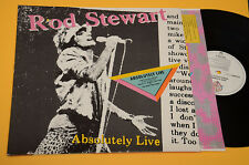 ROD STEWART 2LP ABSOLUTELY LIVE ORIG GERMANY 1982 EX ! GATEFOLD COVER