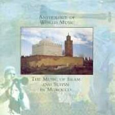 Anthology Of World Music: The Music Of Islam And Sufism In Morocco, Various Arti