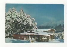 Cascade Creek Lodge In Winter Eglinton Valley New Zealand Postcard 453a