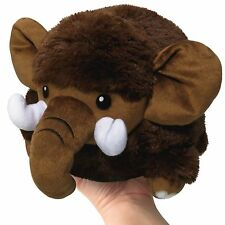 "SQUISHABLE Mini Plush Mammoth 7"" round stuff animal Amazingly soft NEW in Pkg"