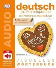 VISUELLES WÖRTERBUCH Deutsch lernen als Fremdsprache (DaF) Bildwörterbuch + App