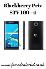 "BLACKBERRY PRIV stv100-4 privilegio Passaporto 5.4"" 32gb 4g LTE Android 5.1"