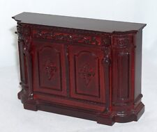 Bespaq 1:12 Mobile bar mogano - mahogany bar counter -50%