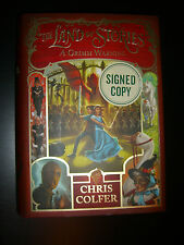 SIGNED The Land of Stories : A Grimm Warning 3 by Chris Colfer First Edition