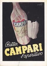 A9844) BITTER CAMPARI, L'APERITIVO.