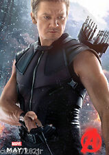 """The Avengers 2 Age of Ultron Movie Poster 8"""" x 11"""" [ T3 ] Hawkeye"""