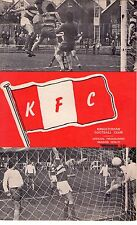 1976/7 Kingstonian v Staines Town programme