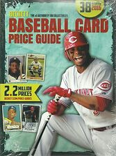 2016 Beckett Annual Baseball Card Price Guide #38 Edition 9781887432009 Griffey
