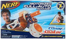 Brand New NERF Super Soaker LIGHTNINGSTORM Water Pistol BLASTER Lightning Storm