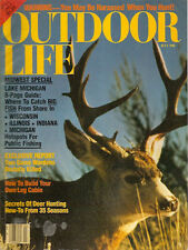 OUTDOOR LIFE MAGAZINE.Jul81MIDWEST.Where catch Big Fish f/shore:Wis,Ill,Ind,Mich