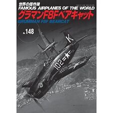 Aircraft Book USA Grumman F8F Bearcat Vol 148 WW2 Navy Airforce Marines Pacific