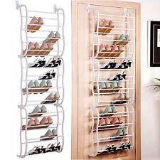 Lovely Hanging Shoe Rack Over The Door 36 Pair Closet Space Saver Organizer Storage