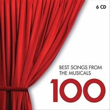 NEW 100 Best Songs From Musicals CD (CD) Free P&H