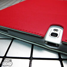 Genuine Cow Leather Book Case Cover for Samsung SM-P600 Galaxy Note 10.1 2014