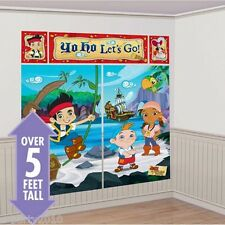 JAKE & THE NEVER LAND PIRATES SCENE SETTER KIT (5pc) ~ Birthday Party Supplies